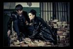 Творческая съемка Love in black